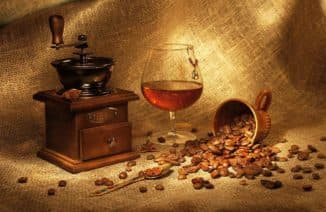 kofe i konyak
