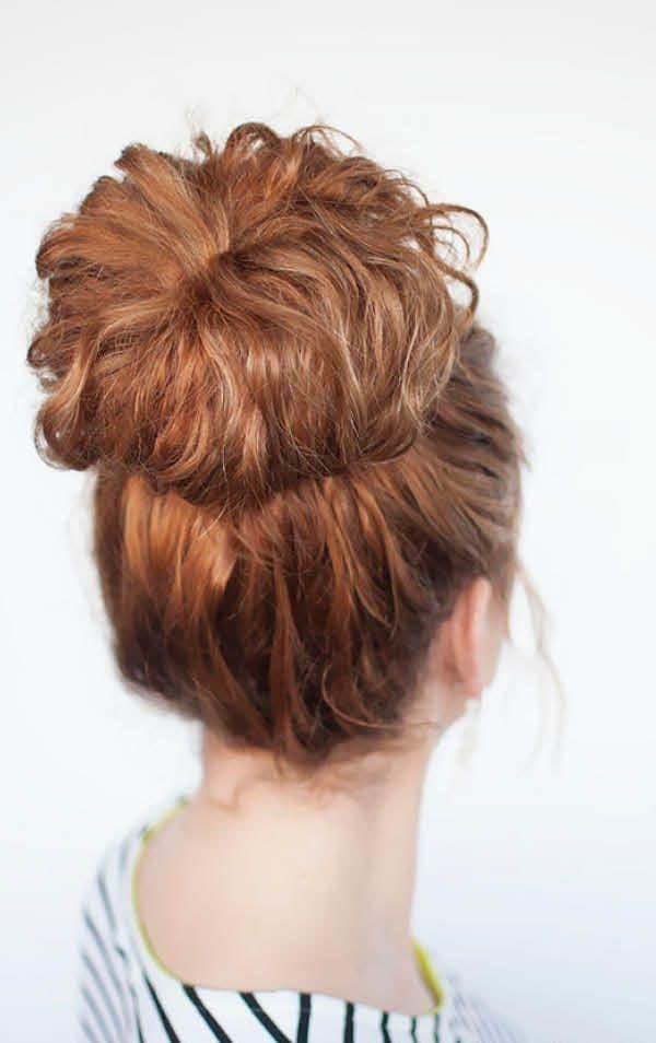 puchok_na_vyuschiesya_volosy_1-600x954 Красивые прически с локонами на длинные волосы: пошаговые фото, простые варианты укладки
