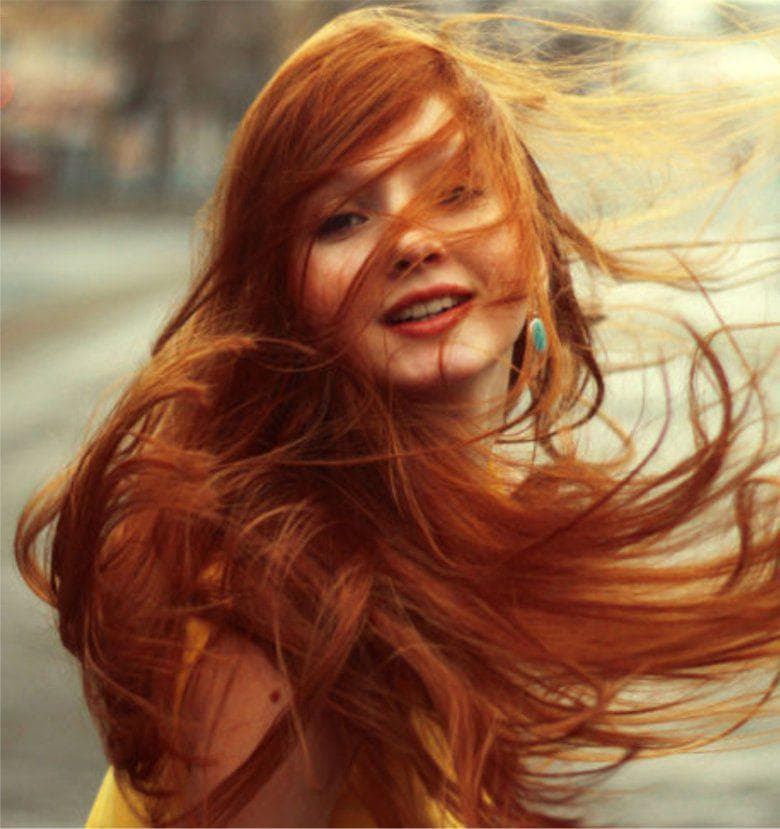 Ярко-рыжий цвет волос , краска для волос без рыжего оттенка, желтизны и рыжины || Как из темных волос сделать рыжие