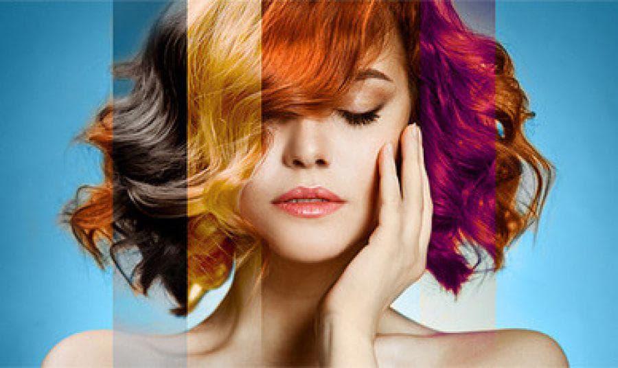 Выбираем правильный цвет волос для карих глаз