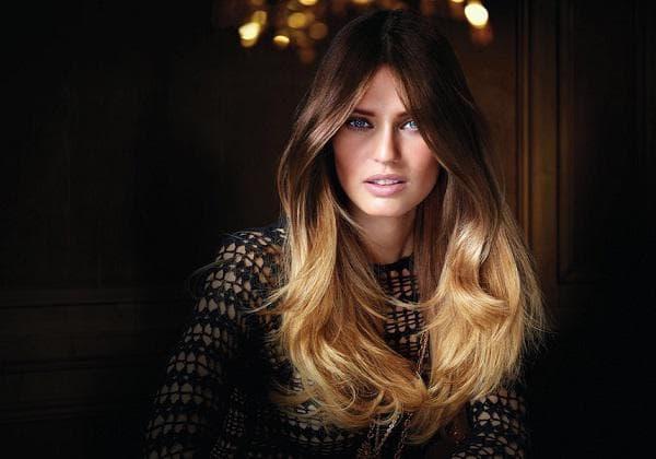 Как называется покраска волос в два цвета – двухцветное мелирование