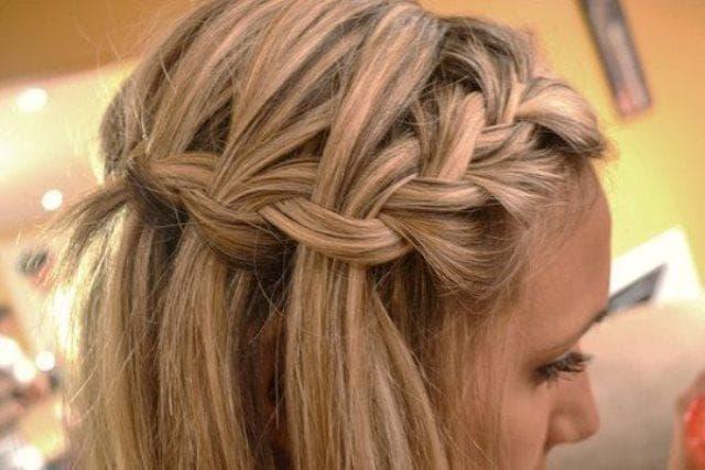 Много косичек на голове - Магнит красоты