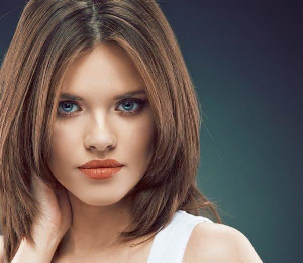 Стрижка лесенка на средние волосы Стильные варианты