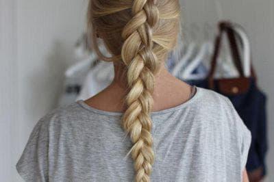 Французская коса наоборот своими руками с фото и видео