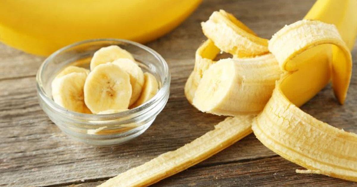 Маска для волос из банана