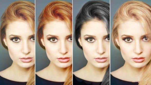 Матрикс подбор цвета волос