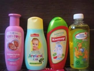 detskye shampoony