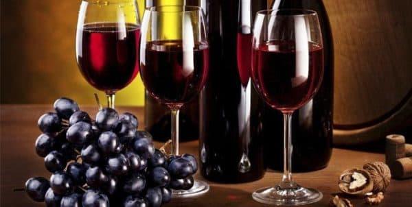 krasnoe vino