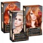 L'Oreal — серии и палитры красок для волос
