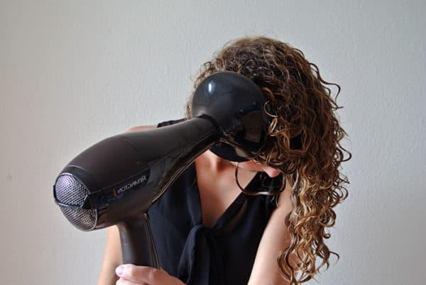 Как правильно сушить волосы феном, термозащита